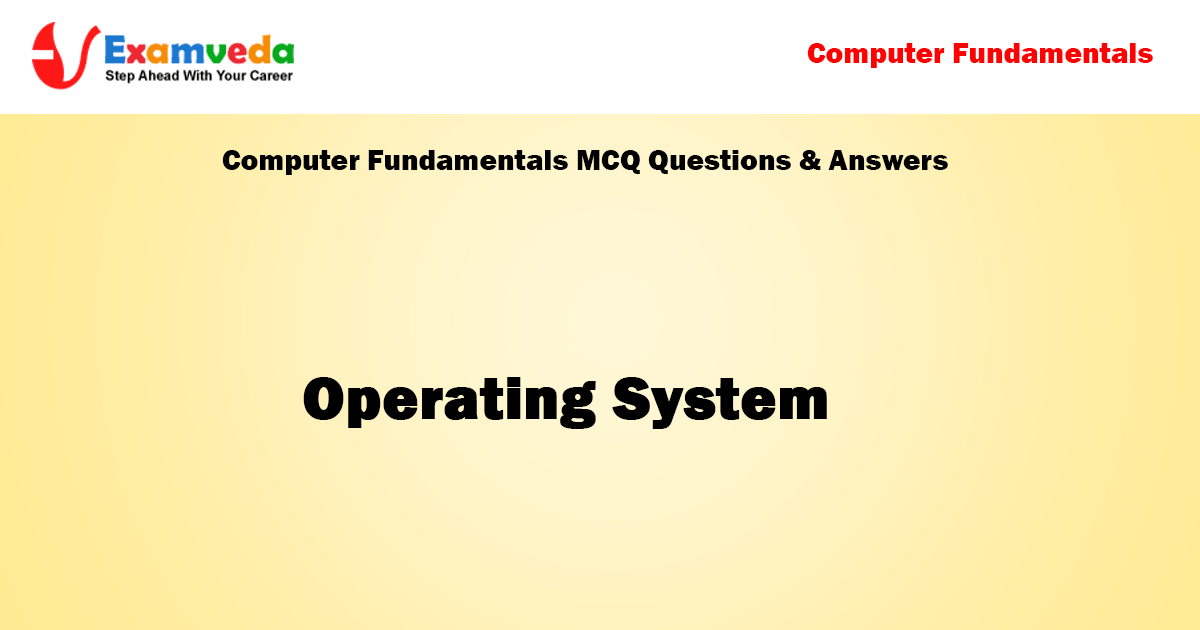 Operating System mcq questions With Answer | OS Question