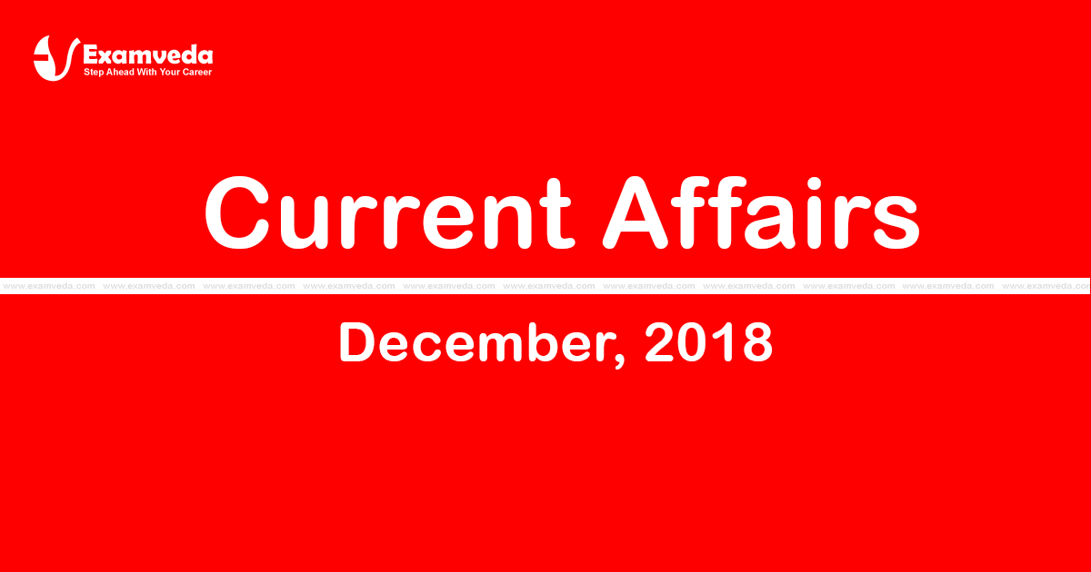 Current Affair December 2018